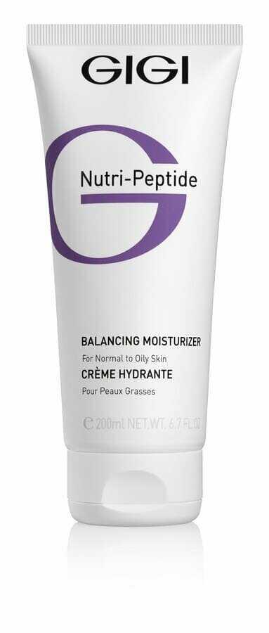 GIGI NUTRI-PEPTIDE Balancing Moisturizer OILY Skin Крем балансирующий Нутри Пептид для комб. и жирной кожи, 200 мл