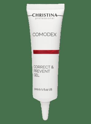 Christina Comodex Correct & Prevent Gel Гель для локальной коррекции, 30 мл