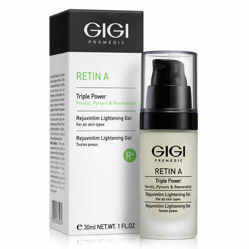 GIGI RETIN A Triple Power Rejuvintim Peeling Гель отбеливающий RejuvIntim для интимных зон, 30 мл