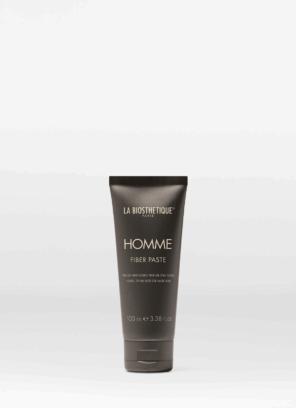 La Biosthetique Homme Fiber Paste Моделирующая паста-тянучка для волос с атласным блеском, 100 мл