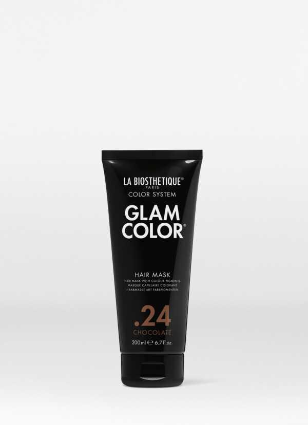 La Biosthetique Glam Color Hair Mask .24 Chocolate Тонирующая маска для волос .24 Chocolate, 200 мл