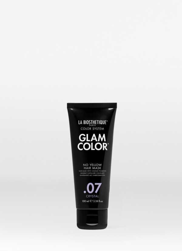 La Biosthetique Glam Color No Yellow Hair Mask .07 Crystal Тонирующая маска для волос No Yellow .07 Crystal, 100 мл