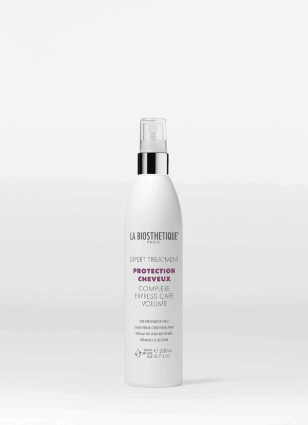 La Biosthetique Protection Cheveux Complexe Express Care Volume Реструктурирующий спрей мгновенного действия с молекулярным защитным комплексом для тонких волос, 200 мл
