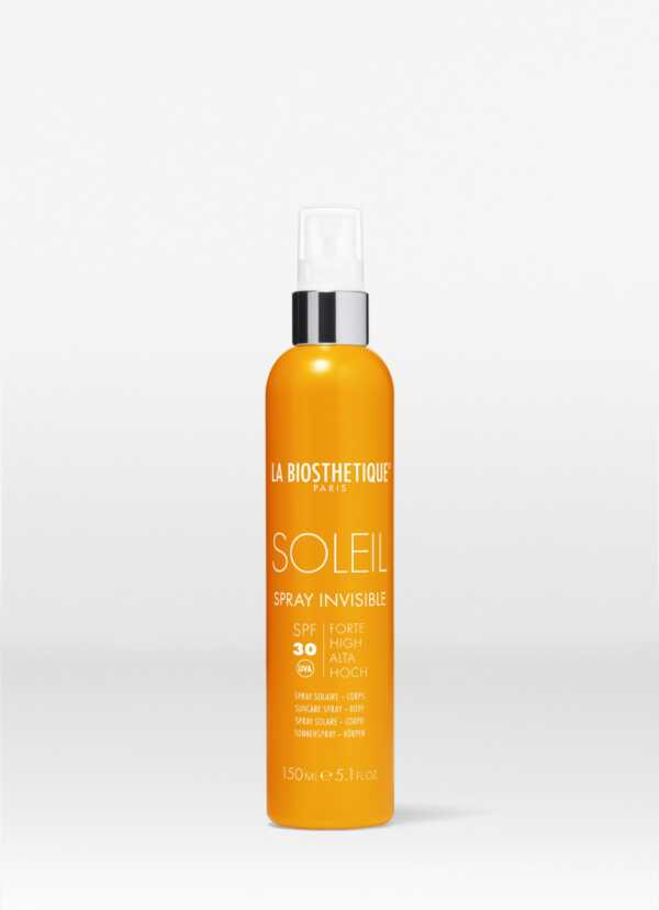 La Biosthetique Spray Invisible SPF 30 Anti-age водостойкий солнцезащитный спрей для тела с высокоэффективной системой фильтров SPF 30, 150 мл