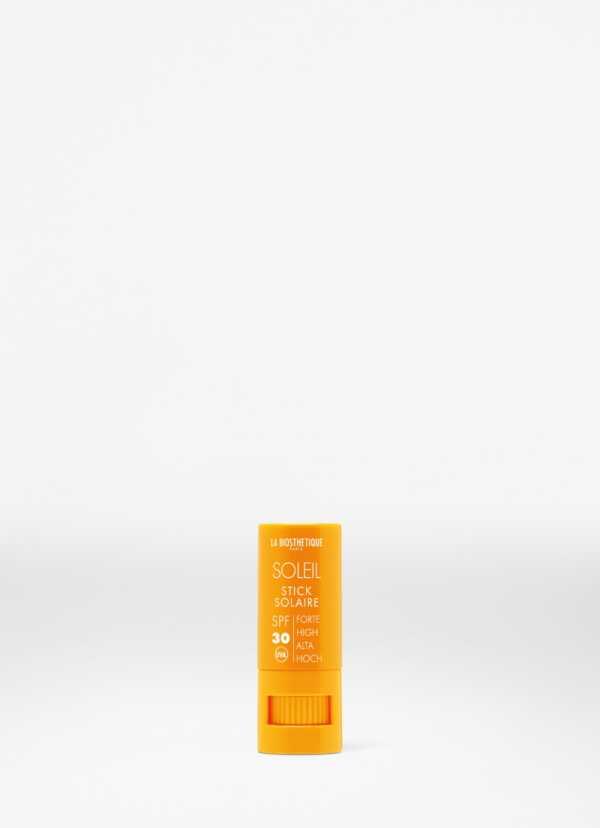 La Biosthetique Stick Solaire SPF 30 Visage Водостойкий стик для интенсивной защиты чувствительной кожи губ, глаз, носа, ушей SPF 30, 8 мл