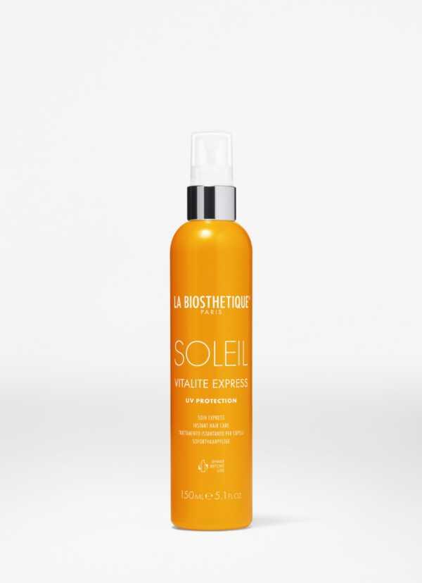 La Biosthetique Vitalite Express Soleil Спрей-кондиционер с водостойким УФ-фильтром, восстанавливающий структуру волос, 150 мл