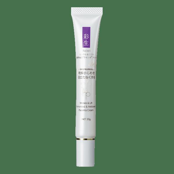 La Mente Saisei Wrinkle &lift Cream Плацентарный крем-лифтинг против морщин для век, 20 гр