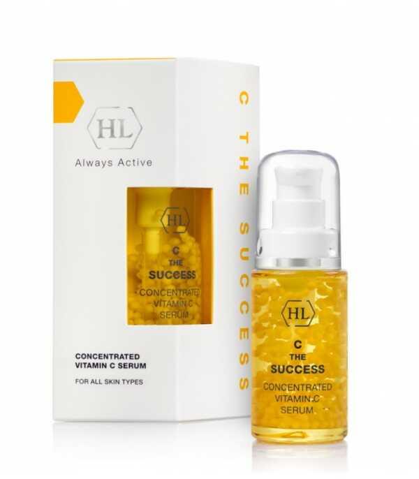 Holy Land C the SUCCESS Concentrated-Natural Vitamin C Serum Интенсивная сыворотка с витамином С, 30 мл