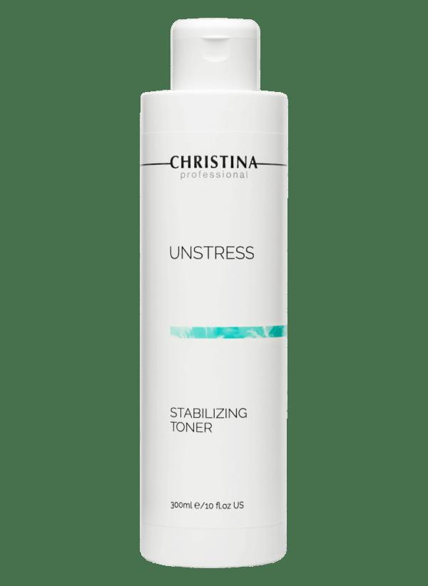 Christina Unstress Stabilizing Toner, pH 4,0-4,5 Стабилизирующий тоник, 300 мл
